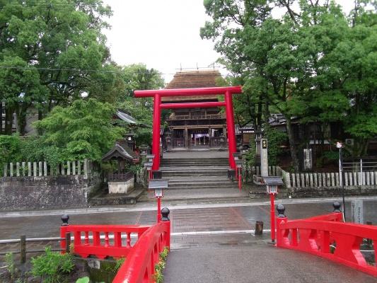 里帰りで「国宝 青井阿蘇神社」・・・・